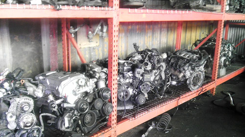 A view of our engines in stock